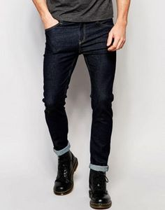 Cheap Monday Tight Skinny Jeans in Real Blue