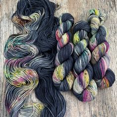 8 available ~Similar to the Jump in the Leaves colorway (excpet this one has pink), I picture a little kid, wearing dark blue snowpants, jumping in a huge pile of snow and fallen leaves. The sw...