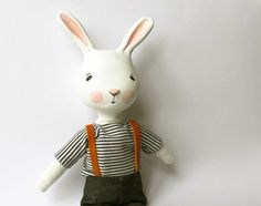 Lovely Bunny from a great Etsy shop, sweetbestiary