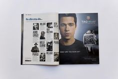 Il Magazine Layout - another good idea for contents page design