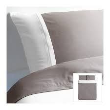 FÄRGLAV Duvet cover and pillowcase. Not showing on the IKEA website but available at the store. Love the combination of grey and white which are my favorite colors for the home anyway.