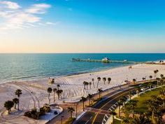 A throwback to the way Florida used to be, Clearwater Beach is a quiet seaside town void of the usual touristy kitsch.