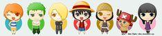 Chibi One Piece - one-piece im making these
