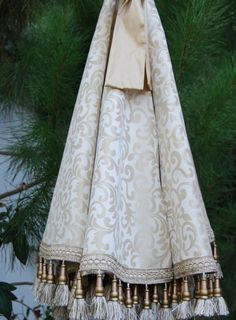 Cream Christmas Tree Skirt. Holidays by Refined Concepts on Etsy