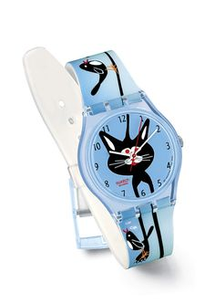 Swatch Watch Tease the Cat