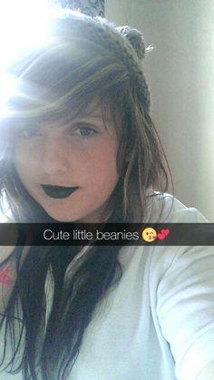 #scene #blacklips #emo #girl