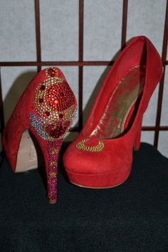 Sailor Moon Wand Shoes Geek Chic. $95.00, via Etsy.
