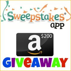 *Hot* Giveaway: Enter to Win a $200 Amazon Gift Card!