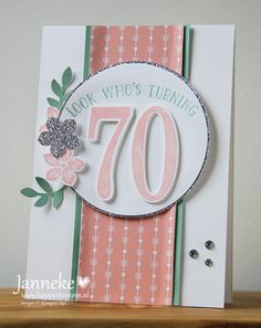 Stampin' Up! - Look who's turning 70