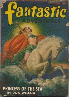 The Geeky Nerfherder: Sci-Fi, Fantasy & Horror Cover Art: Robert Gibson Jones (Part 1 - The Pulp Fiction Art, Science Fiction Books, Fiction Novels, Pulp Art, Pulp Magazine, Magazine Art, Magazine Covers, Robert Gibson, Pin Up