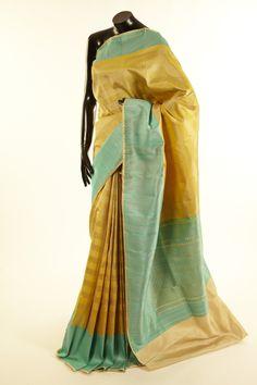 silk mustard saree with blouse