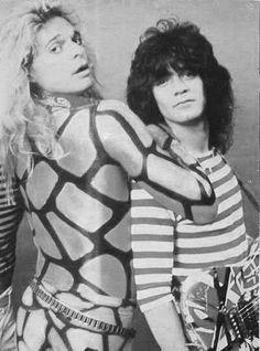 Diamond Dave and Eddie
