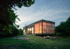 maison passive rectangulaire