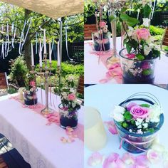 Blütezeit Dülmen Tischdekoration