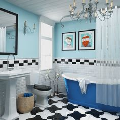 Blue Dream Bathroom 3d Studio Max + VRay
