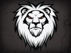 Dribbble - Fraser Davidson / Likes Lion Head Logo, Lion Logo, Lion Vector, Vector Art, Lion Pictures, Sports Graphics, Logos, Desenho Tattoo, Animal Heads