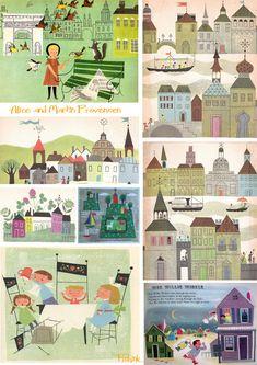 Alice and Martin Provensen Vintage Children's Illustration « Fishinkblog's Blog