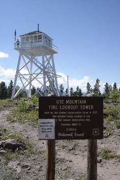 One of the last fire lookout towers, amazing to see in person!