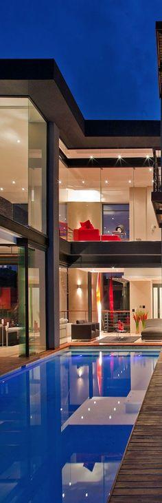 Luxury Homes with Pools | Luxurydotcom | via Houzz