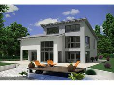 Einfamilienhaus modern pultdach  Bau Braune | Haus | Pinterest | Nullenergiehaus, Energiesparhaus ...