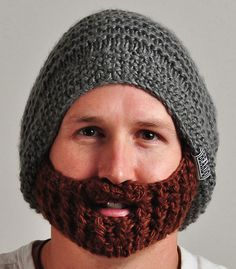 Winter Beard Hat! Phil is getting this in his stocking.... i want one