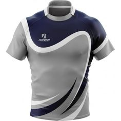 Scorpion Sports UK printed Rugby Shirts from just 6 in your own bespoke design or colour. Sport Shirt Design, Sports Jersey Design, Sport T Shirt, Mens Fashion Blazer, Sport Fashion, Rugby Shirts, Sports Uniforms, Uniform Design, Bespoke Design