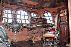 1800's ship captain's quarters - Google Search
