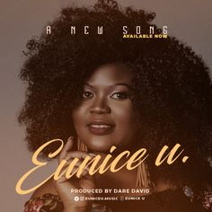 Eunice U Releases A New Song! Cover Songs, Cd Cover, Music Covers, Album Covers, Cover Art, Graphic Design Flyer, Flyer Design, Everything Lyrics, African Artwork