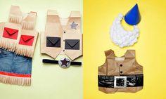 Especial Carnaval 2013: animales y disfraces de papel, ¡los hacemos en casa! - Decora y Más