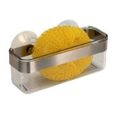 Sponge holder soap dishes and kitchen sinks on pinterest - Frog sponge holder kitchen sink ...