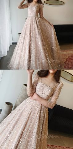 May 2020 – Sparkly sequin champagne long prom dresses.Glittery Champagne Sequ… May 2020 – Sparkly sequin champagne long prom dresses.Glittery Champagne Sequin Prom Dresses with Long Sleeves Sparkly Prom Dresses, Prom Dresses Long With Sleeves, Pretty Dresses, Elegant Dresses, Sexy Dresses, Summer Dresses, Evening Gowns With Sleeves, Casual Dresses, Corset Dresses