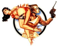The Rocketeer has always been one of my favorite stories! It introduced me to the ideas of streampunk!