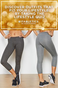 Perfect For Your Sweatiest Workouts. Stay Completely Dry (and Totally On-Trend) in our Strappy Tanks and Smooth, Chafe-Resistant Salar Leggings! Discover Stylish Workout Outfits at Up To 50% Off That Fit Your Lifestyle by Taking our Lifestyle Quiz!