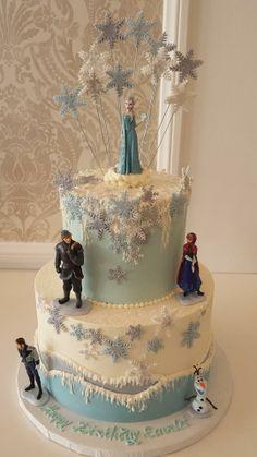 Frozen Birthday Cake by Vanilla Bake Shop