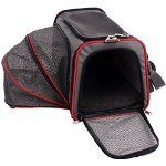 Petsfit 18.1×20.5×11 Inches Comfort Expandable Foldable Travel Dogs Carriers Pet Carrier Soft-sided