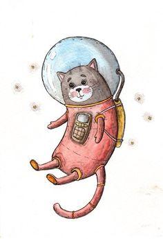 Cat by Таня Самошкина