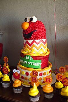 Sesame Street :: Elmo Birthday Party : Photographed by Tara Swain