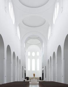 St Moritz Church – Augsburg, Germany, John Pawson – Fabrice Fouillet Photographie