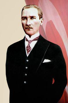 Mustafa Kemal Atatürk-1 Portre Kanvas Tablo