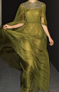 Backstage: Valentino, Haute Couture Spring/Summer 2014.