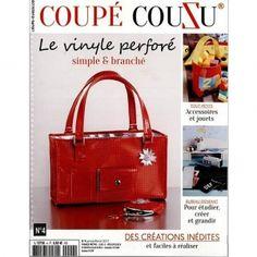 Coupé CouZu n°4 janvier/février 2017 - Le vinyle perforé simple et branché :  Magazine Coupé CouZu n°4 janvier/février 2017 - Le vinyle perforé
