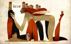 • Awesome illustrations by Riccardo Guasco