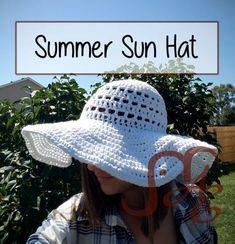 Summer Sun Hat FREE Crochet Pattern