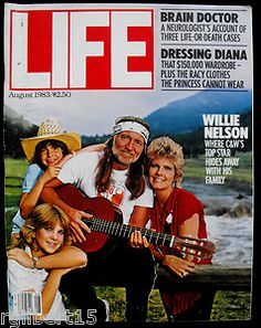 Willie, Connie, Paula and Amy Nelson