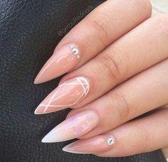 Pointy nails classy nail designs, nail treatment, almond nails, nails on fleek, Gorgeous Nails, Love Nails, Fun Nails, Gorgeous Lady, Classy Nail Designs, Nail Art Designs, Nails Design, Classy Nails, Trendy Nails