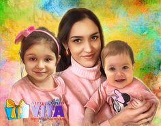 Портрет в стиле New Grange   Дети – это одна треть населения нашей страны, и все наше будущее. Благодаря детям хочется жить😌 Наш сайт http://gallerr.ru Заказать http://gallerr.ru/fzakaza2 По вопросам пишите