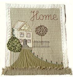 The Textile Cuisine: Home Sweet Home / Nie ma jak w domu