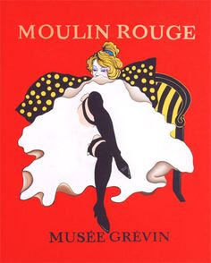 Moulin Rouge (Original Hand Painted Vintage Theme Canvas Art)