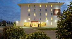 Hotel Grand Est Meyzieu Hotel Grand Est is located in Meyzieu, directly next to the N346 Lyon bypass, a 10-minute drive from Eurexpo Exhibition Centre. Stade des Lumières Stadium is a 20-minute walk away. Free WiFi is provided throughout.