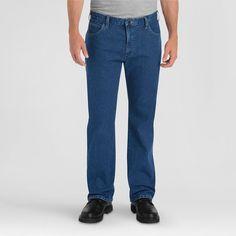 Dickies Men's Relaxed Fit Straight Leg 5-Pocket Flex Jean
